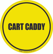 Cart Caddy Floor Sign