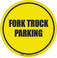 Fork Truck Parking Floor Sign