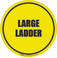 Large Ladder Floor Sign