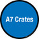A7 Crates Floor Sign