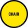 Chair Floor Sign