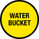 Water Bucket Floor Sign