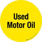 Used Motor Oil Floor Sign