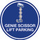 Genie Scissor Lift Parking (Real) Floor Sign