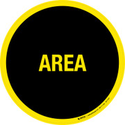 Area Floor Sign