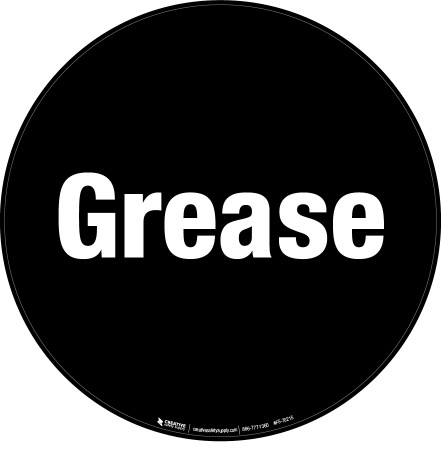 Grease Floor Sign