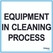 "Wall Sign: (Mylan Logo) Equipment In Cleaning Process 20""x20"" (Mounted on 3mm PVC)"