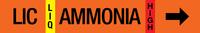 Ammonia Label - Liquid Injection Cool