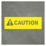 Virtual Caution Sign