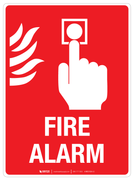Fire Alarm - Wall Sign