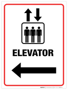 Elevator - Wall Sign