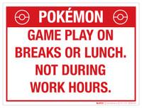 PokÌ_å©mon Game Play On Breaks or Lunch