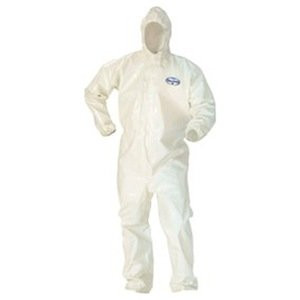 Kleenguard A80 Coveralls with attached hood
