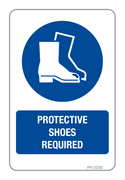 Protective Shoes Required PPL10250