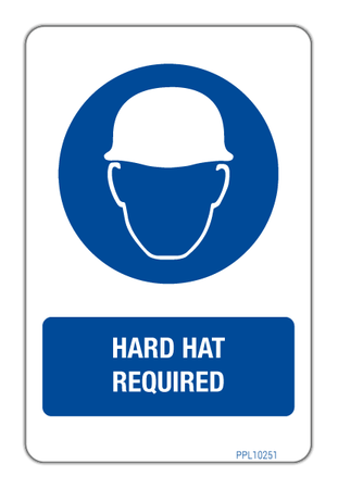 Hard Hats Required PPL10251