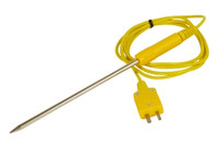 TEMPERATURE PROBE 4 F,K-TYPE LQD 6 IN