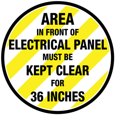 Electrical Panel Floor Sign