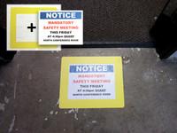 Industrial Clear Floor Frame - Rectangle