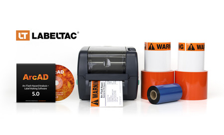 LabelTac 4 PRO Arc Flash Labels Package