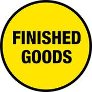 Finished Goods Floor Sign