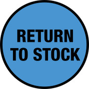 Return To Stock Floor Sign