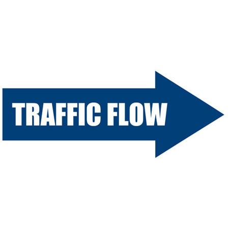 Traffic Flow Arrow Floor Sign