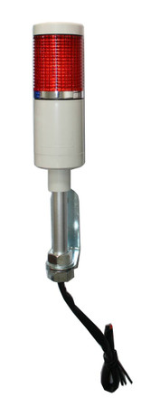 LED Andon Tower Light Red.  24 and 120 volts.