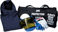 12 Cal Jacket and Bib arc flash Overall Kit