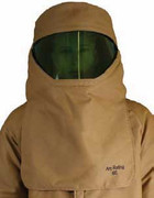 100 cal HRC 4 FR Hood w Shield in Kevlar