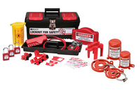 Personal Valve and Electrical Kit w/ 3 Keyed-Alike Safety Padlocks