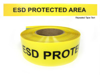 electrostatic discharge ESD Protected Area Tape
