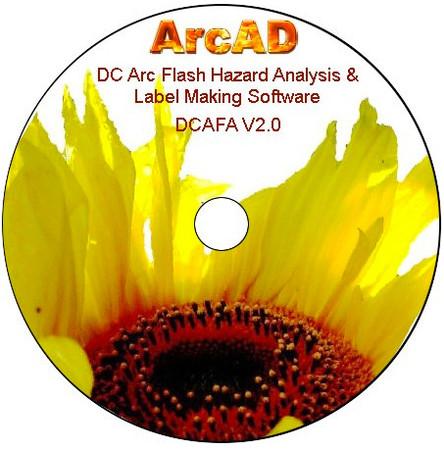 Arcad DC Arc Flash Hazard Calculator Software