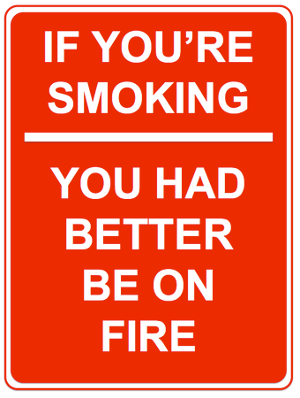 If You're Smoking