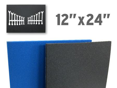 "Customizable Foam Drawer Liner (12""x24"")"