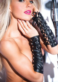 Allure Lingerie Faux Leather Studded Arm Guards