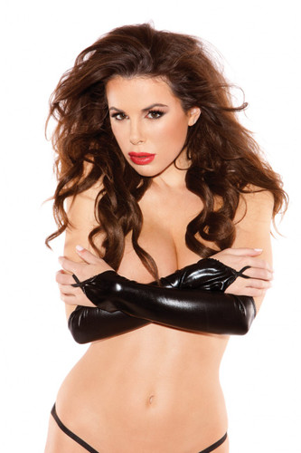 Allure Lingerie Leather Sexy Siren Gloves