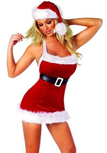 Roma Costume 1Pc Santa's Chic