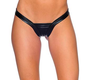 Bodyzone Foil Comfort V Thong - Black