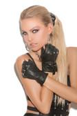 Elegant Moments Leather Fingerless Gloves