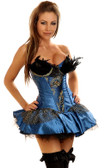 Daisy Corset 2Pc Pretty Peacock Costume