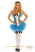 Daisy Corset 4Pc Sexy Alice Costume