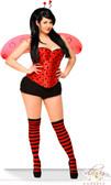 Daisy Corset 5Pc Sexy Ladybug Costume