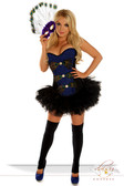 "Daisy Corset 3Pc Sexy ""Pretty Peacock"" Costume"