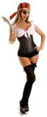 Daisy Corset 6Pc Peasant Pirate Girl Costume
