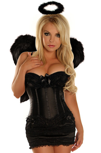 "Daisy Corset 4Pc Sexy"" Dark Angel"" Costume"