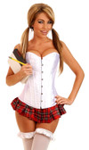 Daisy Corset 2 Pc Sexy School Girl Costume