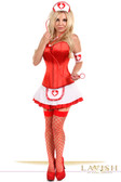 Daisy Corset Lavish 5 PC Pin-Up Nurse Corset Costume