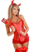 Daisy Corset 4 Pc Sexy Devil Costume