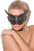 Elegant Moments Leather Cat Mask