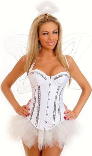 "Daisy Corset 4Pc ""Sweet Angel"" Costume"